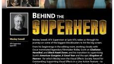 Behind The Superhero: Wesley Sewell, VFX Supervisor Talk