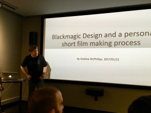 Andrew McPhillips speaks about Blackmagic, Ursa, Fusion and DaVinci