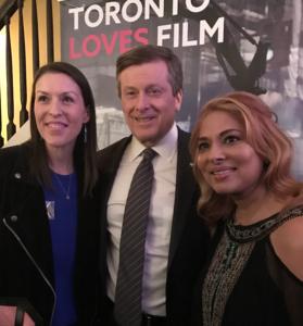 Los Angeles mission to promote Toronto
