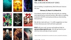 SPINVFX's Upcoming Reel & Resume Session