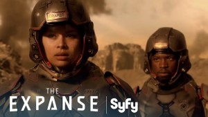 The Expanse and Syfy's VR 360 video experience by SpinVFX