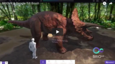 SPINVFX artists bring their Google Tilt Brush creations to life with BRIO VR!