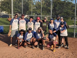 Softball Sept 15 - Championship Team & Supporters